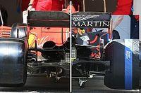 Egy kép, ami megmutatja, hogy mekkora aerodinamikai hátrányban volt a Ferrari a Spanyol Nagydíjon