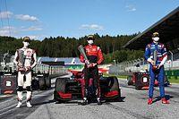 Całe podium dla juniorów Ferrari