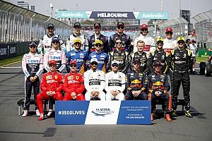 GALERÍA: Las imágenes de los pilotos tomadas al inicio de cada temporada desde el año 2000