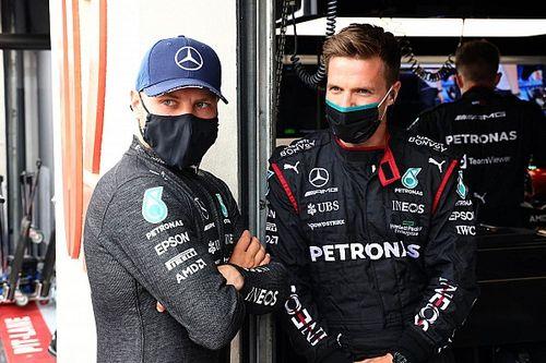 Bottas dice que su relación con Mercedes no está rota