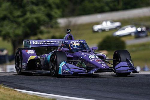 Road America IndyCar: Grosjean tops practice, Magnussen 23rd on debut