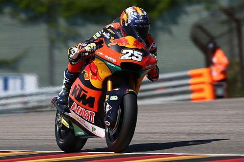 Moto2, Germania: Raul Fernandez pole da record, Diggia secondo