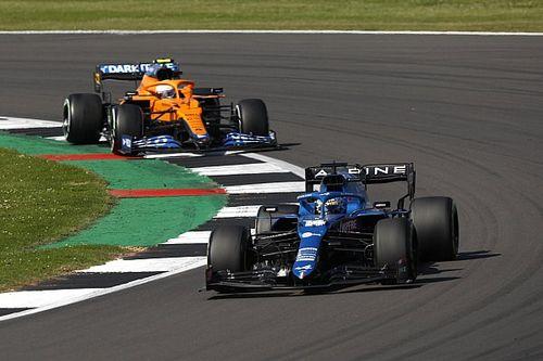 Alonso: Alpine has lost too much ground to McLaren
