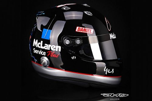 Ricciardo presenta en Austin un casco homenaje a Dale Earnhardt