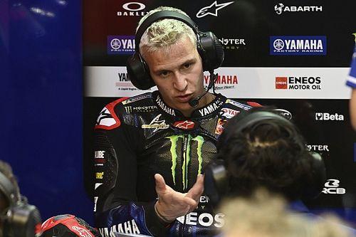 Quartararo, Yamaha'nın MotoGP motosikletine adapte olmakta zorlanmış
