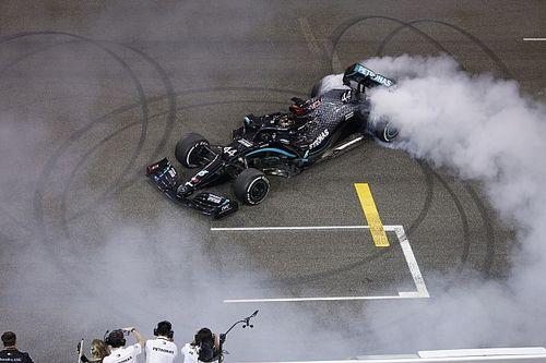 F1-baas Domenicali wacht 'zoals iedere fan' op contract Hamilton