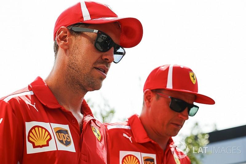 Raikkonen allowed to race for Monza win - Vettel