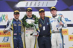 Fórmula 3 Brasil Relato da corrida De ponta a ponta, Iorio vence corrida 1 em Interlagos