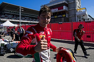 FIA F2 Special feature Leclerc column: Barcelona win adds to perfect start in F2