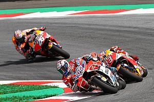 MotoGP Reporte de la carrera Vibrante victoria de Dovizioso sobre Márquez en Austria