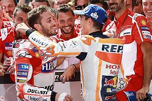 MotoGP Reactions Dovizioso senang menangi duel sulit lawan Marquez
