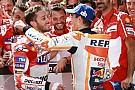 Dovizioso voelde ultieme inhaalactie Marquez aankomen