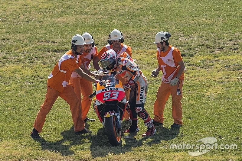 """MotoGP-Champion Marc Marquez: """"Die vielen Stürze waren wichtig"""""""