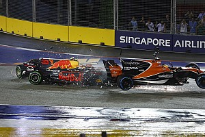 Formule 1 Nieuws Max Verstappen valt uit in Grand Prix van Singapore na crash