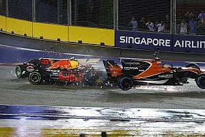 فورمولا 1 أخبار عاجلة سائقا فيراري وفيرشتابن يواجهون تحقيقًا بعد حادثة الانطلاقة في سنغافورة