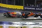 ライコネン、フェルスタッペン、ベッテルが1周目にクラッシュ。レース後に審議