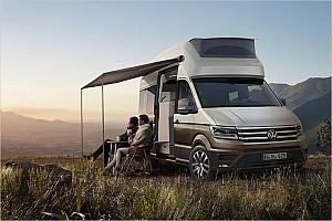 Automotive News Volkswagen zeigt Camper California XXL