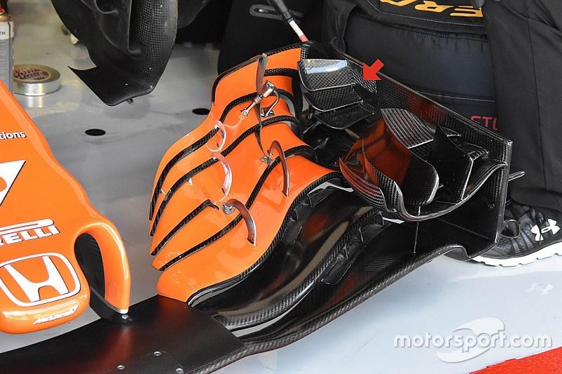 Análisis: Así mejoró McLaren su MCL32 en el GP de España