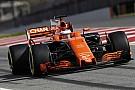 【F1】マクラーレン「求めていたテスト結果ではない」と認める
