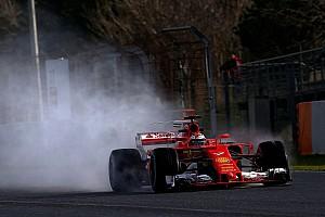 Formula 1 Testing report Barcelona F1 test: Raikkonen tops wet final test morning