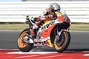 MotoGP Practice report Misano MotoGP: Marquez leads wildcard Pirro in FP1