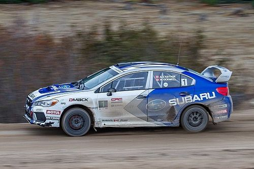 Subaru increases its involvement in Canadian rallying