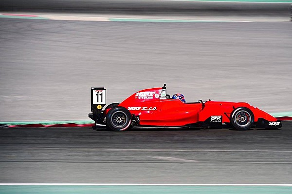 Indian Open Wheel Dubai MRF: Drugovich extends points lead with Race 3 win