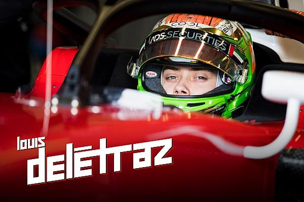 FIA F2 Chronologie Kolumne von Louis Delétraz: In der Saison 2018 unter Beobachtung von Ferrari