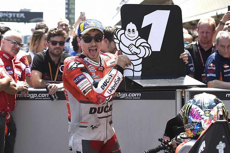 Lorenzo nach Ducati-Pole: