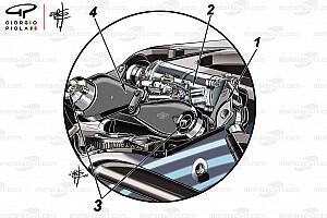 Fórmula 1 Análisis Los secretos detrás de la suspensión delantera de Mercedes