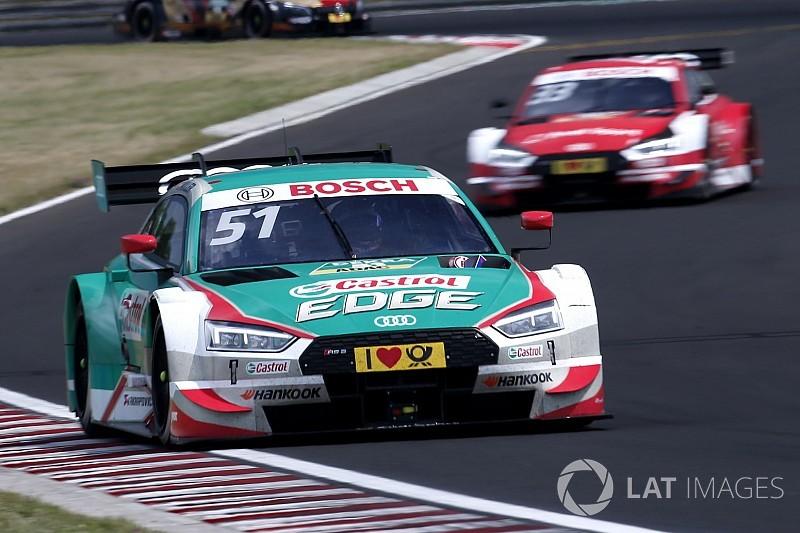 Hungaroring, Libere 3: tripletta Audi con Nico Müller al comando