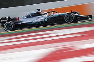 F1 テストレポート マクラーレン計161周、ハミルトン首位。トロロッソ合計走行距離トップ