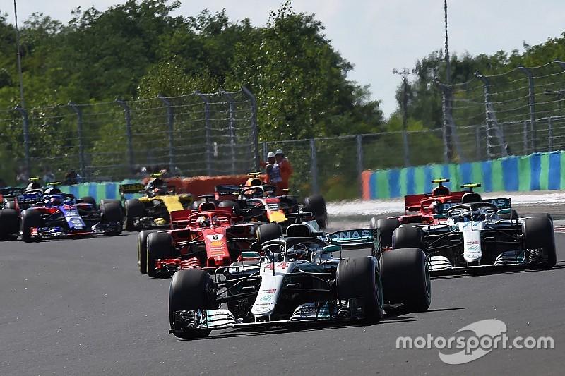 F1 usa un simulador para mejorar los adelantamientos en los circuitos