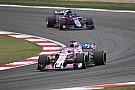 Force India progresse :