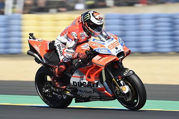 MotoGP Reaktion Ducati-Tank macht Jorge Lorenzo physisch fertig