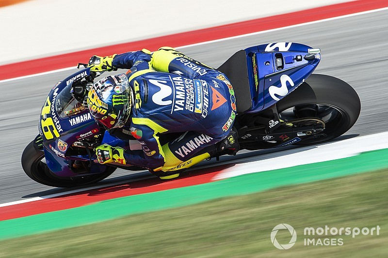 Moto2-Reifenabrieb: Valentino Rossi wundert sich, warum nur Yamaha leidet
