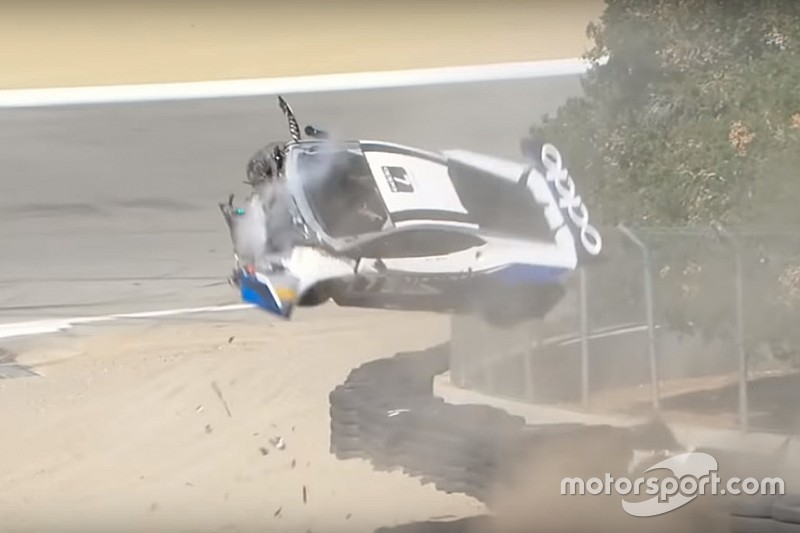VIDEO: Tremendo accidente de Sheena Monk