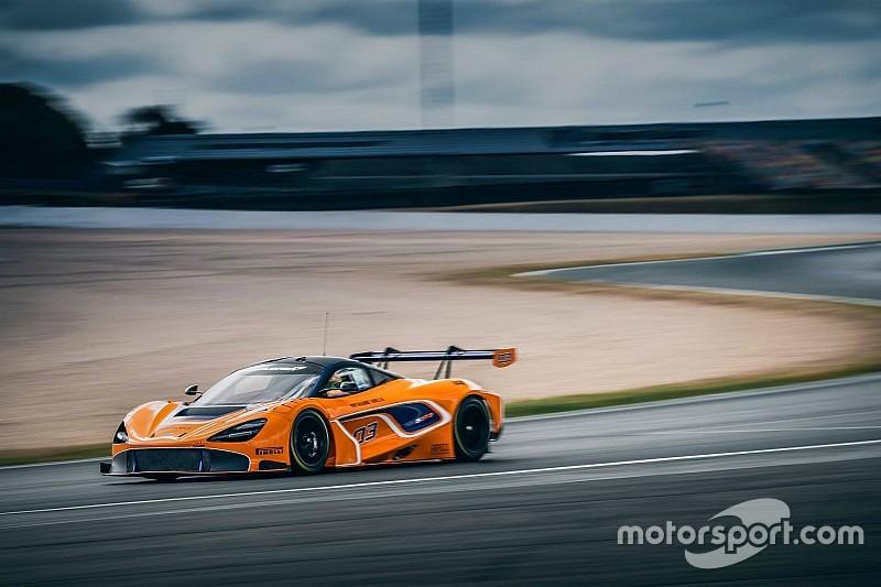 Neuer McLaren 720S GT3 erstmals auf der Strecke