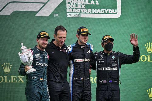 匈牙利大奖赛:奥康乱中收获首胜,汉密尔顿追到领奖台