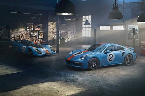 Porsche builds one-off 911 Turbo S to honour Mexico's greatest racer
