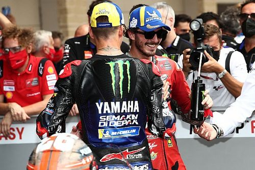 """Bagnaia: MotoGP 2021 """"wasn't the year to try to win the championship"""""""