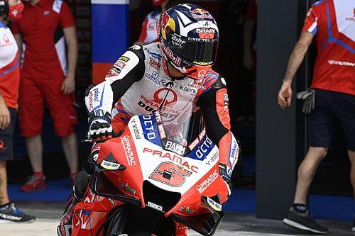 Test MotoGP Misano: mattinata a rilento, ma c'è una nuova Honda