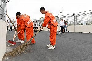 Prevención en la pista de Sanya para evitar los problemas de Santiago