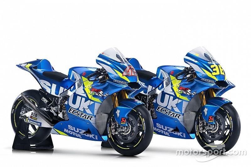 Suzuki показала ліврею свого мотоцикла для сезону MotoGP 2019 року