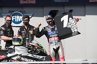 """Dominique Aegerter: """"Hätte nie gedacht, dass ich schon im zweiten Rennen gewinnen kann!"""""""