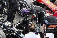 Hamilton culpa detritos na pista por falha dos pneus na última volta do GP da Grã-Bretanha