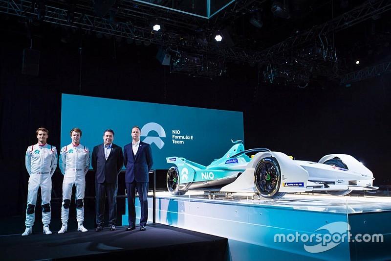 NIO presenta su Fórmula E para la temporada 2018/19