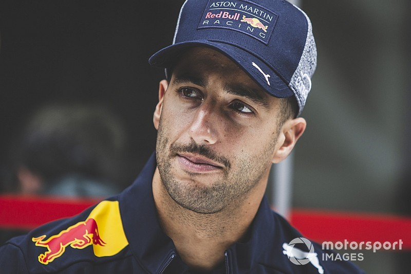 Ricciardo predicts tears after final Red Bull hit-out