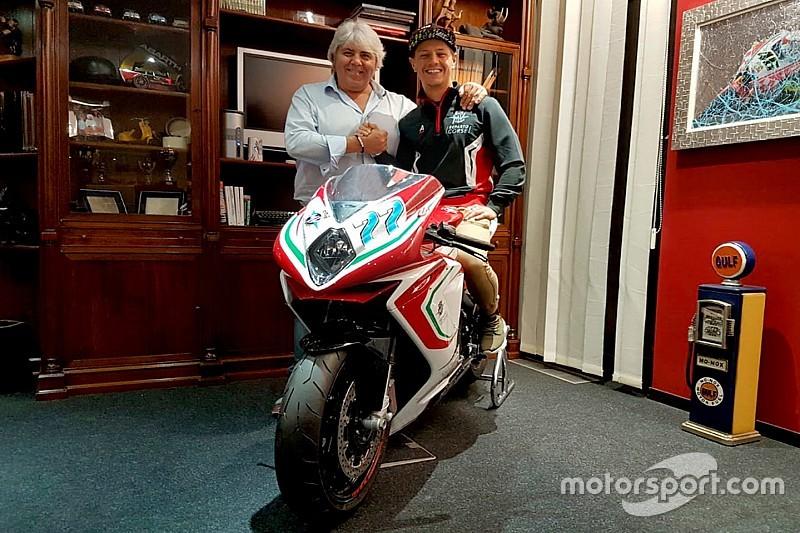 Aegerter joins MV Agusta for 2019 Moto2 season