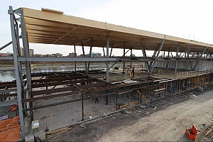 Update on the construction of new pit building in Montréal